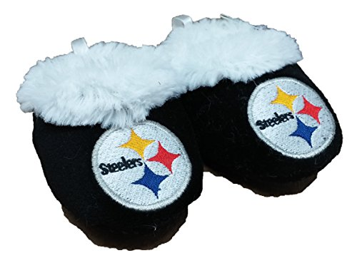 NFL Pittsburgh Steelers Infant Baby Bootie Shoe (New Design) (3-6M)