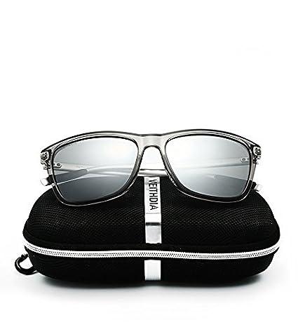 aa436115e69 VEITHDIA Brand Unisex Retro Aluminum+TR90 Sunglasses Polarized Lens Vintage Eyewear  Accessories Sun Glasses For Men Women 6108  Amazon.in  Clothing   ...