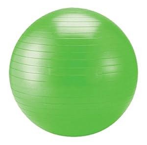Schildkröt Fitness Gymnastikball, limegreen, 55 cm, 960055