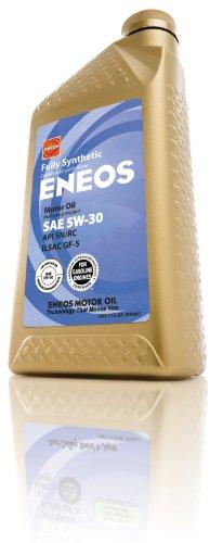 Eneos Engine Oil (Eneos 3261300 API SN/ILSAC GF-5 Certified 5W-30 Fully Synthetic Motor Oil - 1 Quart Bottle)