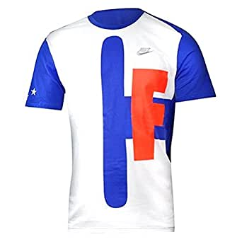 Nike Tee Comand Force Blue/White 695732-102 (SIZE: L)