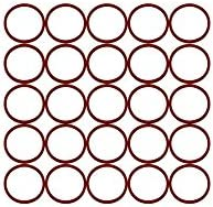 Pack of 100 Sur-Seal Inc. Ozone and Sunlight Sterling Seal ORSIL231x100 Number-231 Standard Silicone O-Ring has Excellent Resistance to Oxygen Pack of 100 70 Durometer Hardness 2-7//8 OD 2-5//8 ID Vinyl Methyl Silicone 2-5//8 ID 2-7//8 OD