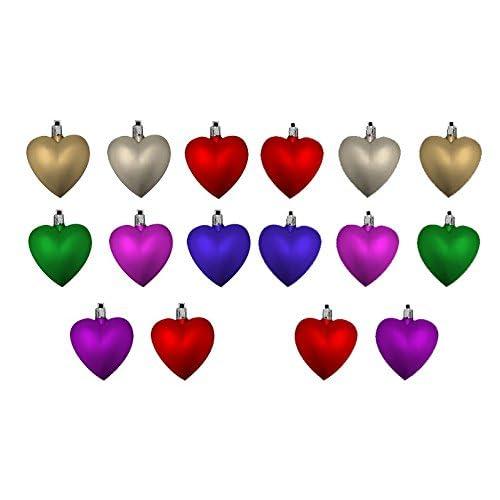 heart shaped ornaments amazon co uk