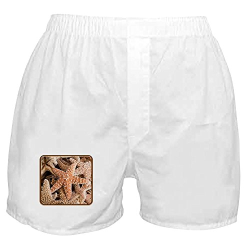Truly Teague Boxer Short (Shorts) Collection Of Starfish - (Spongebob Boxer Shorts)