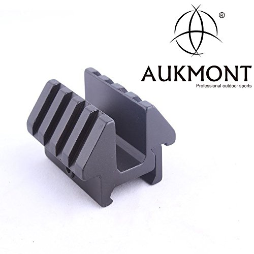 ual 45 Degree 25.4mm Rail Dovetail Weaver Scope Mount Picatinny Hunt (Double Picatinny Rails)