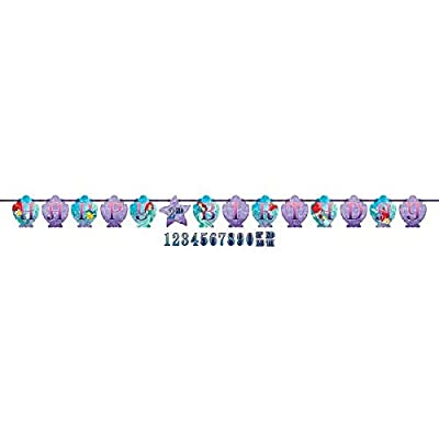 Ribbon Letter Banner | Disney Ariel Dream Big Collection | Birthday: Toys & Games