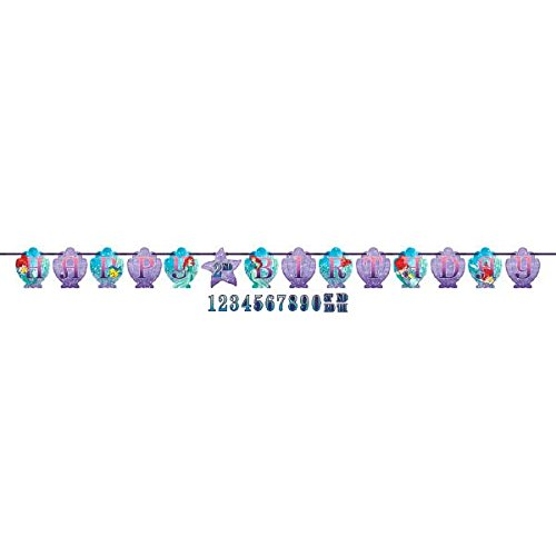 Ribbon Letter Banner | Disney Ariel Dream Big Collection | Birthday