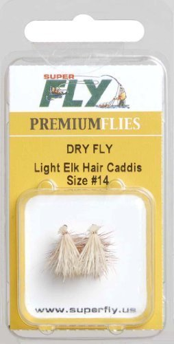 Superfly Dry-Elk Hair Caddis-#14 - FLY106614PUS by Superfly