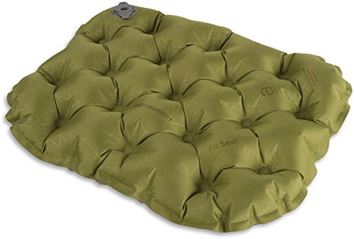 Sea to Summit Air Seat - Stadium & Sporting Event Inflatable Compact Cushion, Green