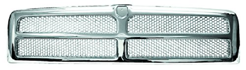 In Pro Car Wear CWG-DG1207B0C Grille, Custom All Chrome