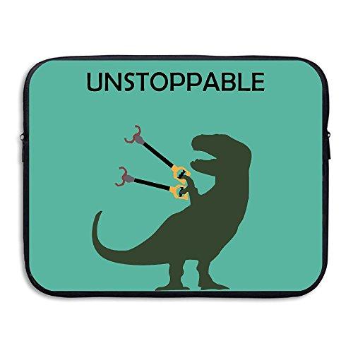 Computer Bag Laptop Case Slim Sleeve Dinosaur T-Rex Waterproof 13-15In IPad Macbook ()
