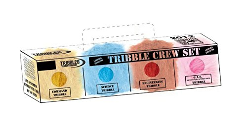 Star Trek Tribble Crew Set - San Diego Comic Con SDCC Exclusive (Crew Diego San)