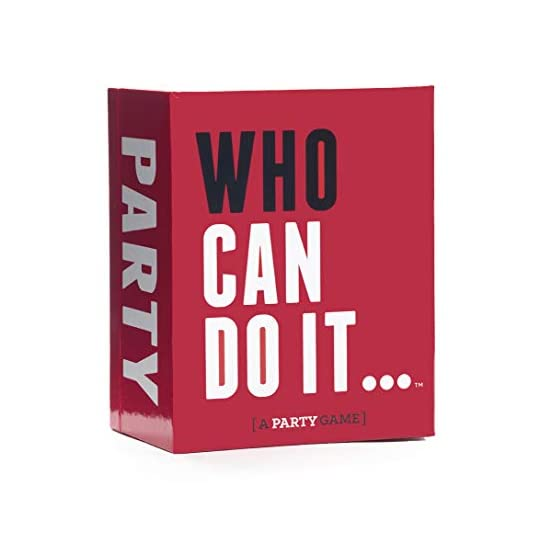 Who Can Do It – Compete with Your Friends to Win These Challenges [A Party Game]