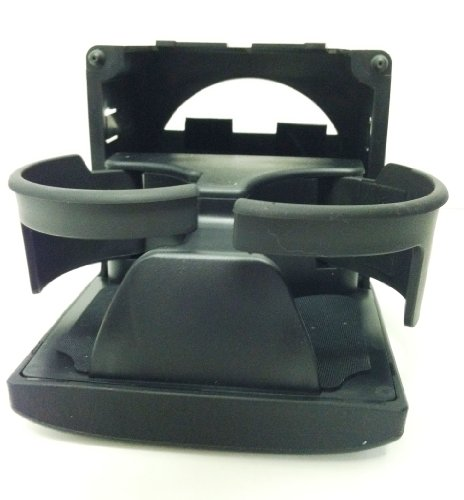 SUBARU LEGACY OUTBACK CONSOLE REAR CUPHOLDER BLACK 2005-2009