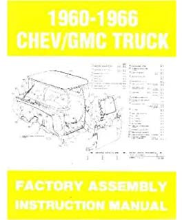 1963 chevy pickup truck shop service repair manual book amazon 1963 1964 1965 1966 chevy pickup truck assembly manual book illustrations fandeluxe Image collections