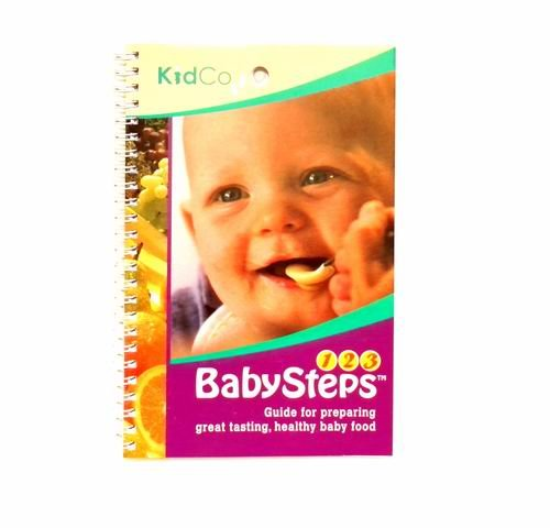 Kidco Baby Steps Baby Feeding Instruction Book for Preparing Healthy Baby Food