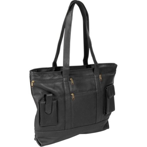 RYC652BLACK3 - Royce Leather Business Tote by Royce Leather (Image #1)