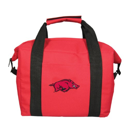 NCAA Arkansas Razorbacks Soft Sided 12-Pack Cooler Bag by Kolder