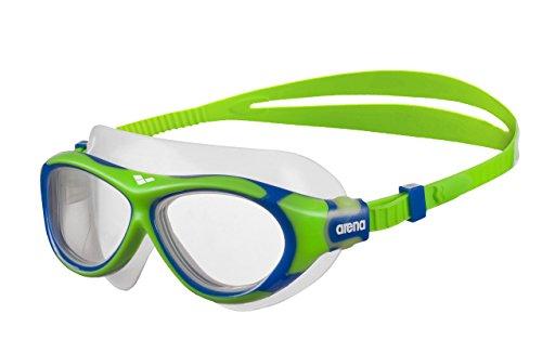 arena Kinder Unisex Schwimmmaske Brille Oblò Junior (Verstellbar, UV-Schutz, Anti-Fog Beschichtung)