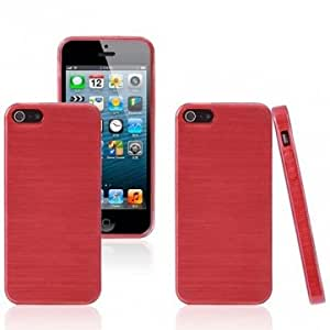 Trendy Fashion Style TPU Protector Case Cover For iPhone 5 5S --- Color:White