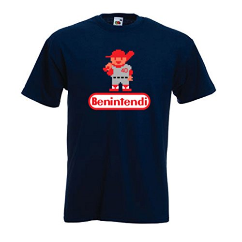 "Silo Shirts NAVY Andrew Benintendi Boston ""RBI"" T-Shirt ADULT"