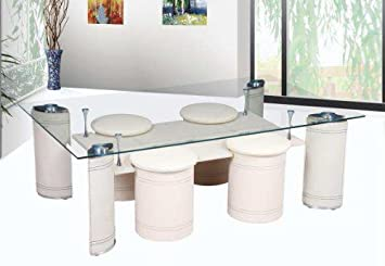 glastisch mit hocker bestseller shop f r m bel und. Black Bedroom Furniture Sets. Home Design Ideas