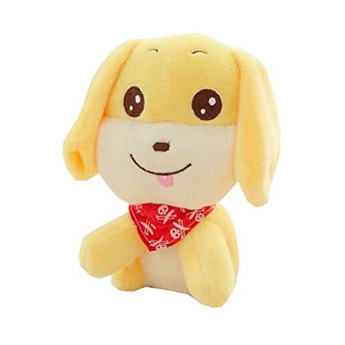 """8 """"petite taille peluche chien chiot peluche chien créatif en peluche cadeau pour les enfants, C"""