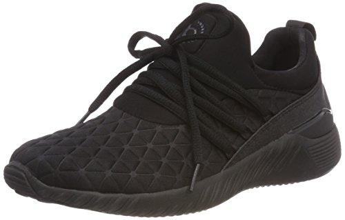 Noir 442393656900 Slip Bugatti 1000 Baskets schwarz on Femme 6TBXxq