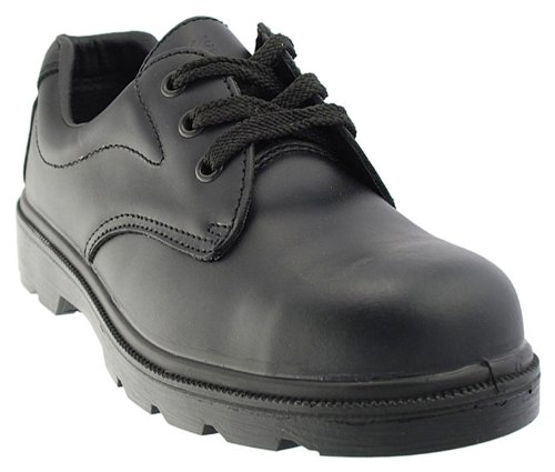 Grafters M361A Mens Safety Shoes In Black, Size: 11