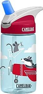 CamelBak Eddy Water Bottle, Kids, Airplane Bandits, 400 ml Capacity