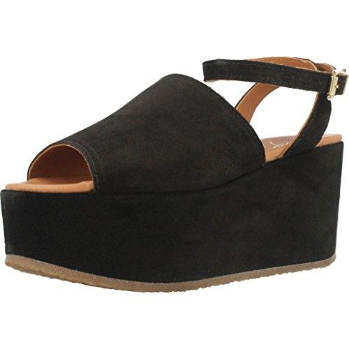 Sandalias y chanclas para mujer, color Negro , marca ALPE, modelo Sandalias Y Chanclas Para Mujer ALPE EDEL 8A Negro Negro