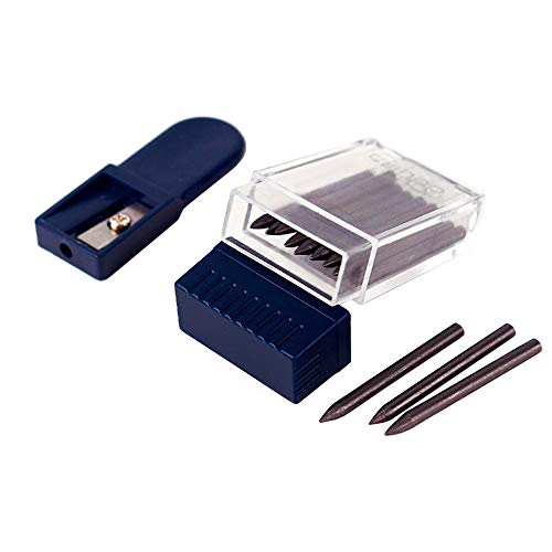(Looneng Lead Pointer Sharpener and 2mm Compass Leads Set)