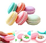 erioctry Lovely Mini Macarons Portable Travel