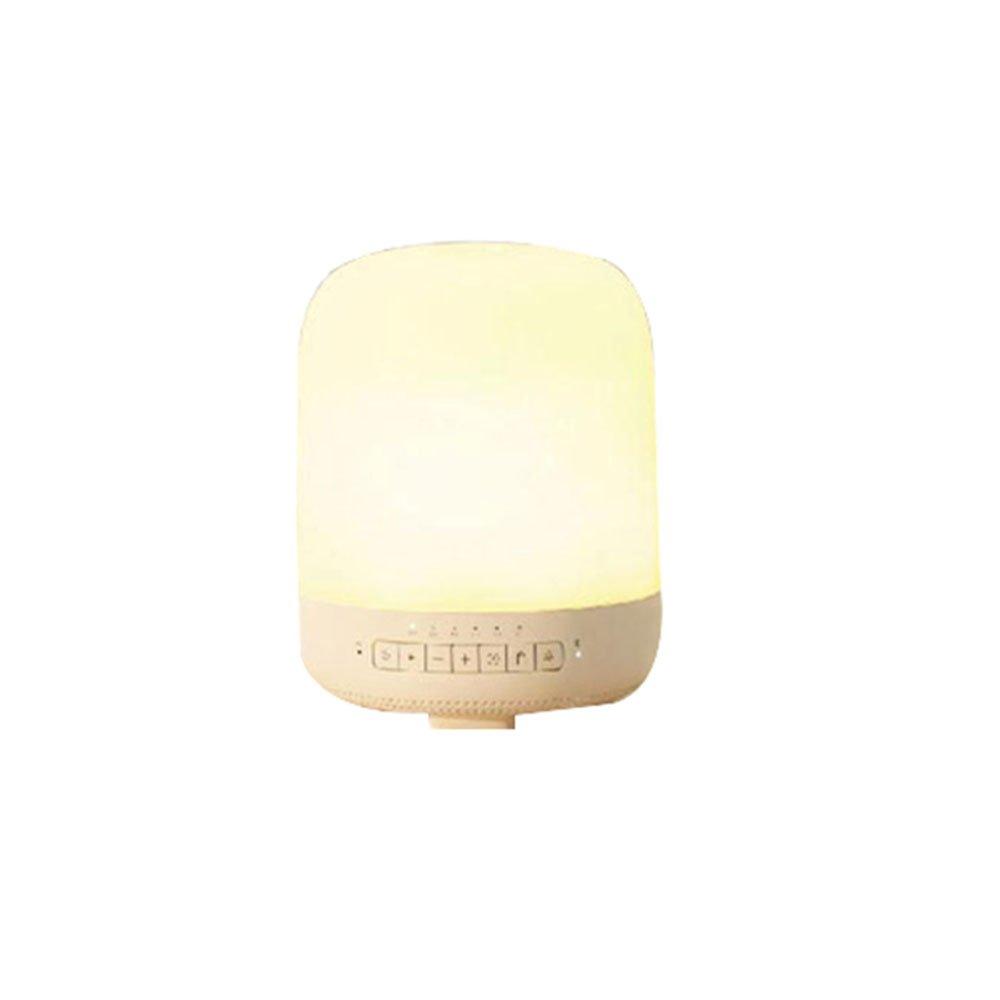 Wansheng 4-In-1 APP Steuerung Aromatherapie Ultraschall Luftbefeuchter, Intelligente Ultraschall Wecker Aromatherapie Blautooth Lautsprecher Nachtlicht (Mobile Application Control Light)