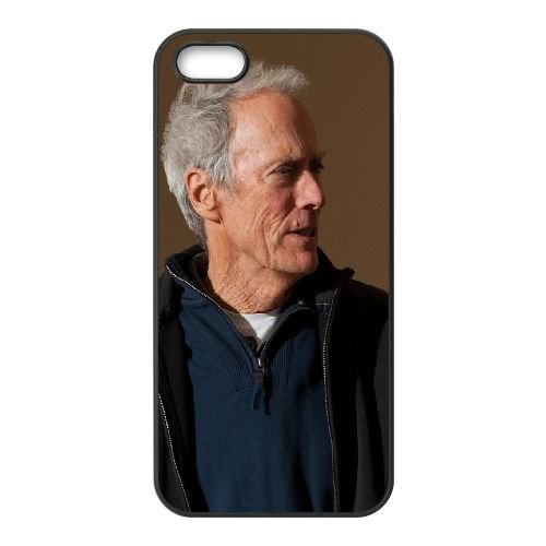 Clint Eastwood Actor Gesture Hand Gray Haired Male Middle Aged 18666 coque iPhone 5 5S cellulaire cas coque de téléphone cas téléphone cellulaire noir couvercle EOKXLLNCD22893