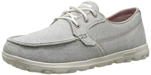 Mujer Skechers Heather On The de Taupe Mist Deporte Zapatillas Go q0g6wPBx0