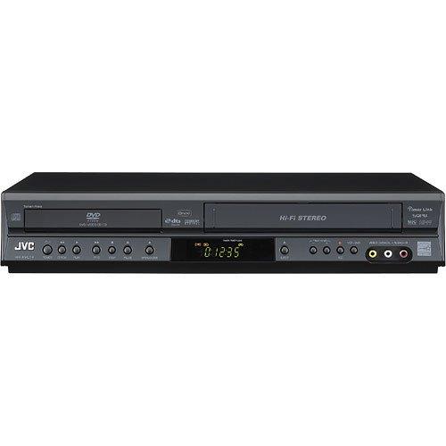 JVC HR-XVC14 DVD VCR Combo Mp3 and Cd Player (Jvc Hr Vcr)