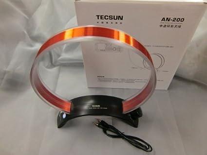 Kaito//Tecsun AN200 Tunable Passive AM Radio Loop Antenna AN-200