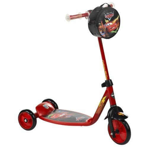 New Lightning McQueen CARS Scooter - Preschool 3 Wheeled Scooter by Disney Pixar Cars - HUFFY - Huffy Scooters For Boys
