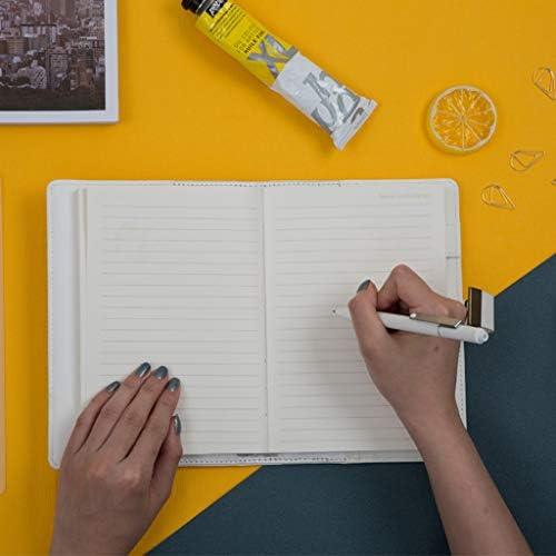 ruiruiNIE B6 Retro-Notizbuch mit Passwortschloss Lederbezug Traveller Tagebuchplaner Agenda Schulbedarf Geschenkpapier