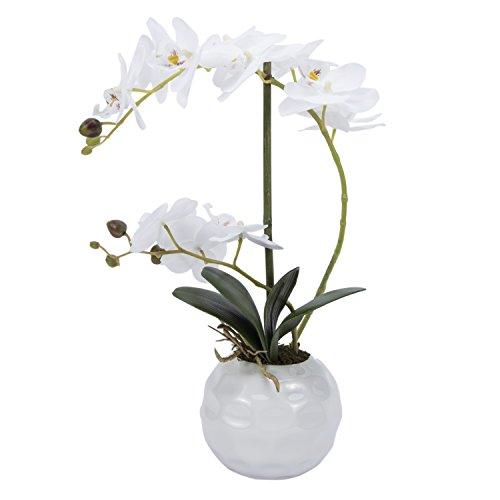 Artificial flowers Orchid arrangement centerpieces Home wedding office decoration (Same Day Ftd Florist)