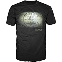 Fallout Map Mens Black T-shirt Licensed