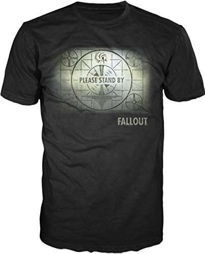 Fallout Map Mens Black T-shirt Licensed (Fallout T Shirts)