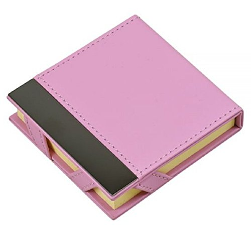 pink-leatherette-post-it-note-holder