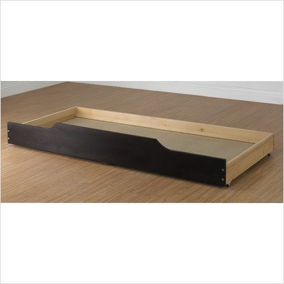 - Orbelle Trading Trundle Storage/Bed Drawer in Espresso
