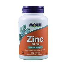 NOW Foods Zinc Gluconate, 500-Count