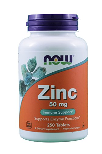NOW Foods Zinc Gluconate 500 Count product image