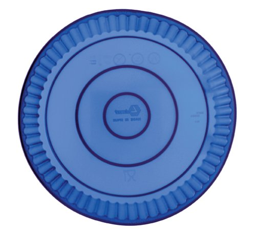 Lekue Silicone 11-Inch Fluted Tart Pan by Harold Import Company, Inc.