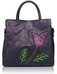 Designer Soft Leather Totes Handbags for Women Ladies Satchels Shoulder Bags 8171