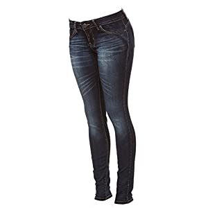 71072aac3f5 Cover Girl Women's Dark Skinny Jeans Low Rise Butt Shaping